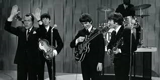 Sullivan with Beatles