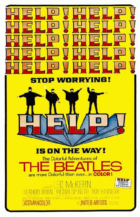 BeatlesHelpMoviePoster2